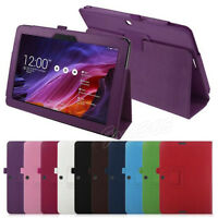 "Flip Floding Stand Skin Leather Case Cover For 10.1"" Asus Transformer Pad TF103C"