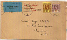 Colony Cover Malayan & Straits Settlements Stamps