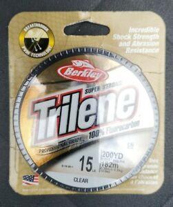 Berkley TLFFS1515 Trilene 100% Fluorocarbon 15lb. Fishing Line 200yd