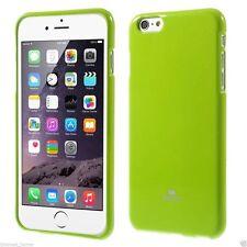 GOOSPERY© MERCURY Jelly Slim TPU Pearl Case Cover Bumper Apple iPhone 6 6s Plus