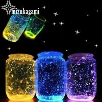 Glow Luminous Fluorescent Particles Sand Aquarium Fish Tank Gravel Bright Pigmen