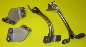 Fits Suzuki GS1000S Wes Cooley Fairing Bracket Set. Stainless . UK made.