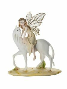 Mousehouse Magical Fairies Mythical Fairy Unicorn Figurine Gift for Girls