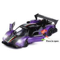 Pagani Zonda R Sports Car 1:32 Scale Model Car Diecast Toy Vehicle Gift Purple