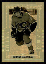 2018-19 UD Tim Hortons #GE5 Johnny Gaudreau Gold Etchings (ref 34378)