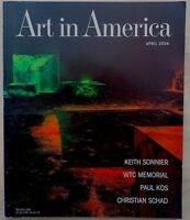 ART IN AMERICA magazine April 2004 Paul Kos KEITH SONNIER