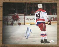NICKLAS BACKSTROM Signed Auto 11x14 Hockey NHL Photo PSA/DNA AB18101 Capitals