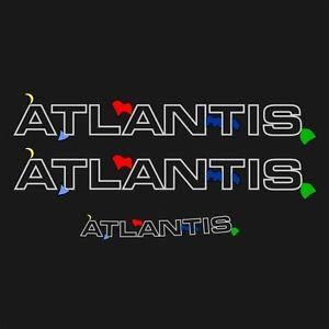 Aufkleber Atlantis T4