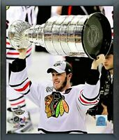 "Jonathan Toews Chicago Blackhawks Stanley Cup Photo (Size: 12"" x 15"") Framed"