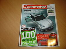 L'automobile N°761 Jaguar XJ.BMW 530d GT.Honda Insight / Toyota Prius / 308 HDi