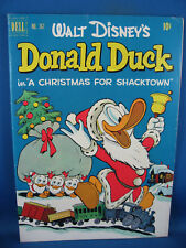 FOUR COLOR 367 F VF BARKS UNCLE SCROOGE CHRISTMAS FOR  SHACKTOWN 1952