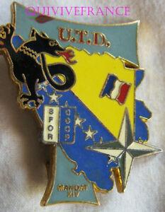 IN9586 - INSIGNE Division Salamandre, U.T.D. SFOR S.F.O.R, 14° XIV Mandat