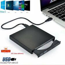 External CDRW DVD Rom Drive USB CD Player Disc Reader For PC Laptop Mac Notebook