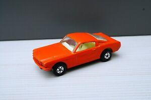 Matchbox Lesney No8 Ford Mustang Burnt Orange NM no Box