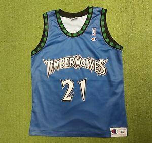 Canotta Basket NBA Minnesota Timberwolves Garnett Shirt Trikot Camiseta Maillot