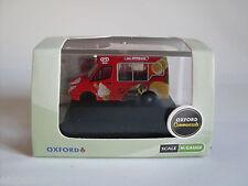 Mercedes Sprinter Ice Cream, Escala N, Oxford Coche Vehículo Modelo 1:148