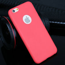 Ultra Slim Candy Silicone TPU Phone Case Cover For iPhone 5 6 7 Plus Accessories