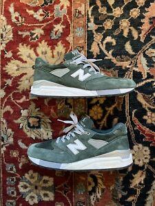New Balance 998 Hunter Green Size 9.5