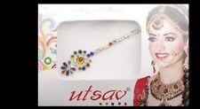 Bindi long- bijou de peau mariage danse oriental strass multicolore- FS13Q 3105