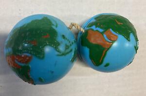 2 Lot Round Globe Yo Yo's World Ball Shape Planet FREE Shipping