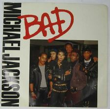 45 Record Picture Sleeve Only Michael Jackson Bad