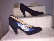 Rare Maud Frizon Embellished Shoes Size 6