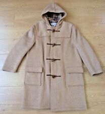 George White Fort Brockhurst Men Vintage Wool Beige Duffel Coat Size 44