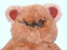 "Vintage 1983 Kenner Wicket the Ewok plush stuffed large 15"" Star Wars Rotj"