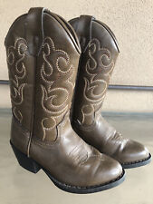 Kid's Vintage Smoky Mountain Faux Leather Western Cowboy Boots Size 11 VG