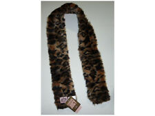 NWT JUICY COUTURE ANIMAL PRINT LEOPARD TIGER LOOK SCARF $58.00