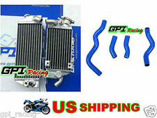aluminum Radiator +hose Kawasaki KLX 300 KLX300 1997-2007 2005 2005 2004 03 02