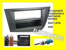 Marco  de monta radio Seat Leon 2005 kit conexiones ISO  Fakra