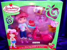 Strawberry Shortcake Doll with Custard & Berry Scooter NEW
