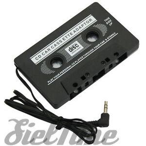 ADATTATORE A CASSETTA CASSETTE PER MP3 IPOD LETTORI CD STEREO AUTO CONVERTITORE