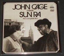 """JOHN CAGE meets SUN RA the complete film USA DVD + 7"""" SINGLE new CLEAR VINYL"""