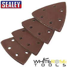 Sealey Multi Tool Sanding Sheet Set 90mm 20pc 60-240 Grit Abrasive Pad Sheets