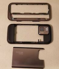 New Nokia Oem Back Cover Housing Mid Plate Side Keys Frame for N97 mini - Bronze