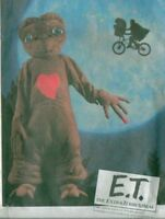 OOP E.T. Extra Terrestrial Costume Sewing Pattern Childs McCall's 8311 ET E T