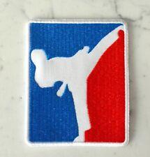 Taekwondo Karate Kick-boxing Patch Aufnäher Parche brodé patche toppa