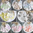 Kids BABY SOCKS Lot 10 Pairs Infant Girls BOYs Cotton Short Socks Size 0-6T
