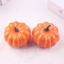 Fake Pumpkins 5pcs Artificial Fruits Vegetables Halloween Decorative Props