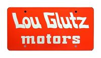 National Lampoon's Vacation | Truckster | LOU GLUTZ | METAL Prop License Plate