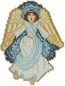 Gloria the Angel - Mill Hill Nativity Trilogy Cross Stitch Kit 2013