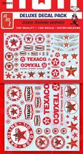 MKA  AMT #29  TEXACO Trucking Graphics waterslide decals sheet 1/25