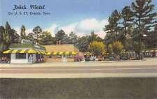 Oneida Tennessee Jobes Motel Street View Antique Postcard K36897
