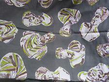Único cubierta de tapicería pesada lino algodón tejido de material de impresión de pantalla Romano