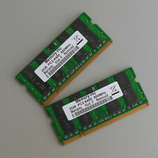 4GB 2X2GB DDR2 800 800Mhz PC2 6400 So-dimm Speicher Laptop Ram Notebook CL6.0