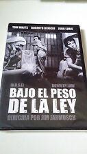"""DVD """"BAJO EL PESO DE LA LEY"""" PRECINTADO SEALED JIM JARMUSCH TOM WAITS BENIGNI"""