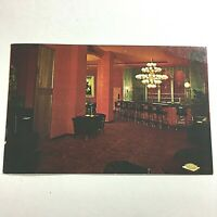 Vintage Postcard Marlborough Blenheim Edwardian Room Atlantic City New Jersey P5