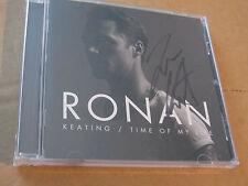 Ronan Keating-Time Of My Life (album) FIRMATO/SIGNED/AUTOGRAFO Boyzone